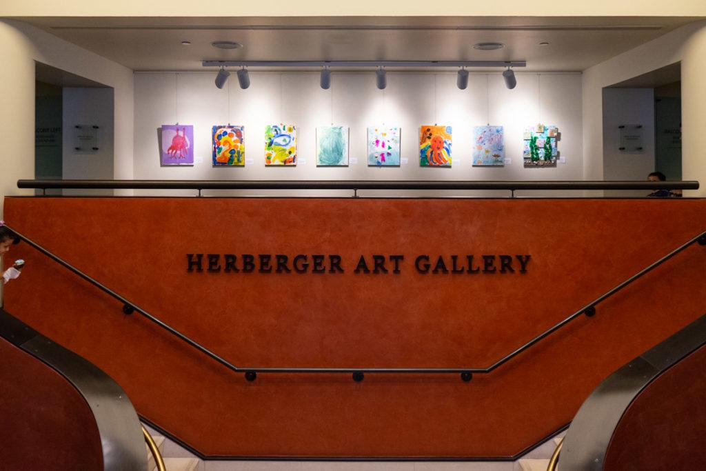 herberger art gallery entrance