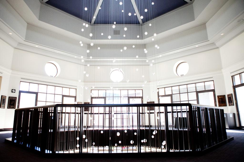 rotunda lighting feature at herberger theatre