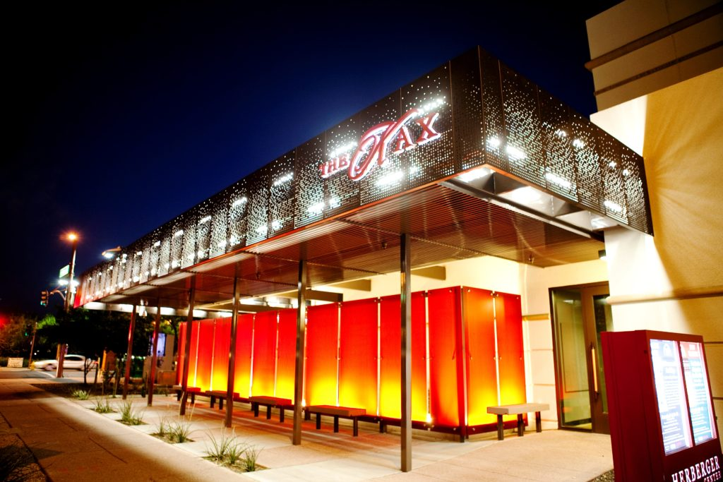 exterior photo of the kax theater