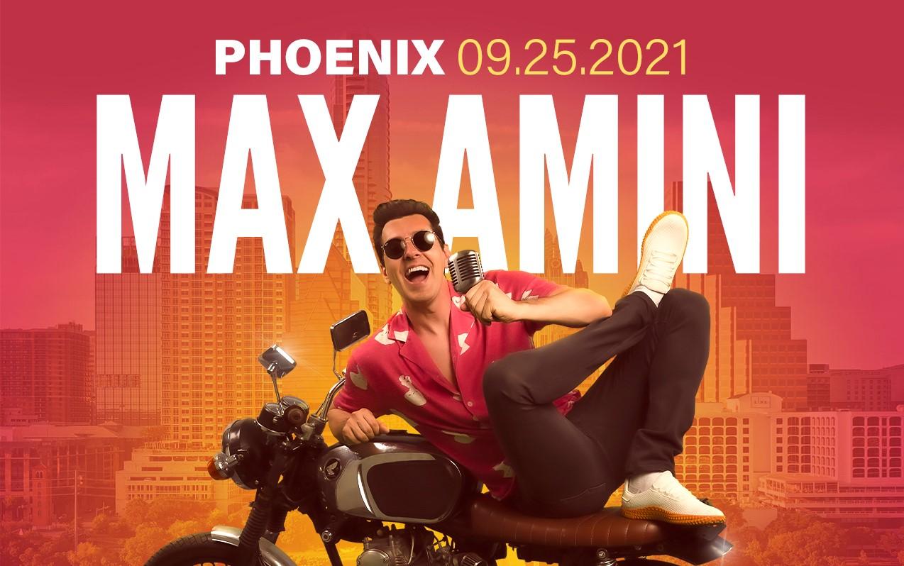 Max Amini Live in Phoenix Poster Image